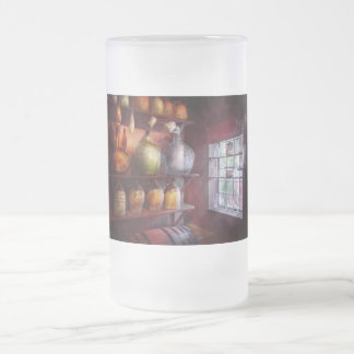 Bar - Bottles - Check out these BIG Jugs Frosted Glass Beer Mug