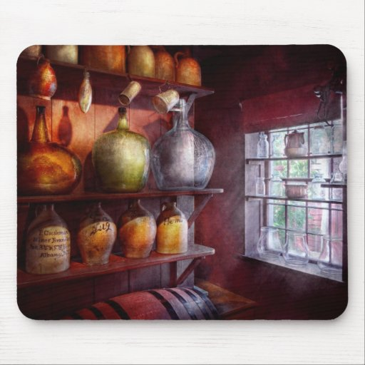 Bar - Bottles - Check out these BIG Jugs Mousepad