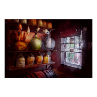Bar - Bottles - Check out these BIG Jugs Print