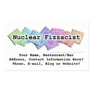Bar Business Card - Nuclear Fizzacist