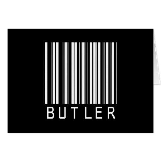 BAR BUTLER DARK CARD