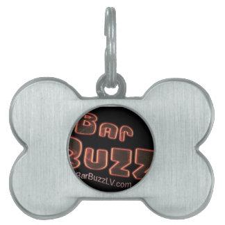 Bar Buzz Pet ID Tag