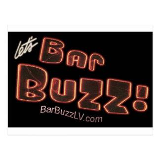Bar Buzz Postcard