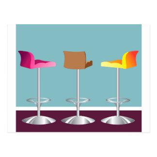 Bar_Chairs_Stools Postcard
