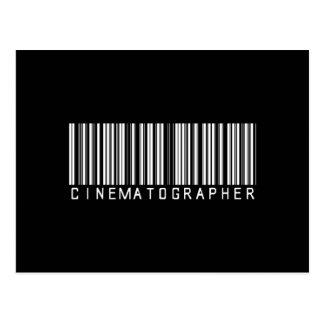 BAR CINEMATOGRAPHER DARK POSTCARD