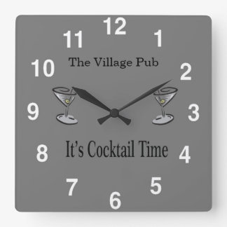 Bar Clock - Customizable Bar Clock Design