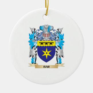 Bar Coat of Arms Ornament