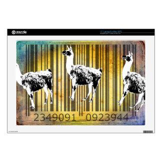 "Bar Code Art Design Vector Fun Color 17"" Laptop Skins"
