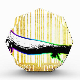 Bar Code Art Design Vector Fun Color Award