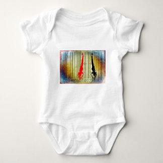 Bar Code Art Design Vector Fun Color Baby Bodysuit