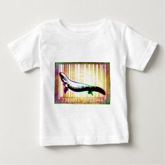Bar Code Art Design Vector Fun Color Baby T-Shirt