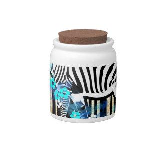 Bar Code Art Design Vector Fun Color Candy Dish