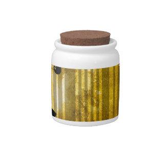 Bar Code Art Design Vector Fun Color Candy Jars