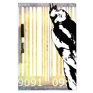 Bar Code Art Design Vector Fun Color Dry-Erase Board