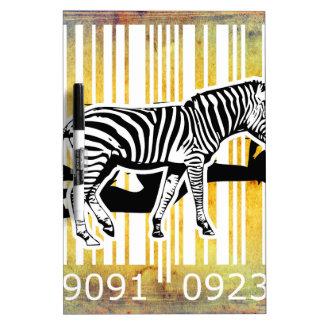 Bar Code Art Design Vector Fun Color Dry-Erase Boards