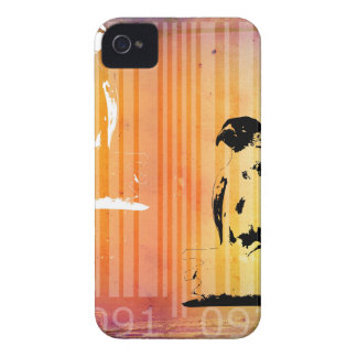 Bar Code Art Design Vector Fun Color iPhone 4 Covers