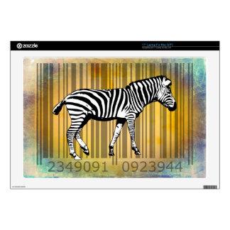 Bar Code Art Design Vector Fun Color Laptop Skins