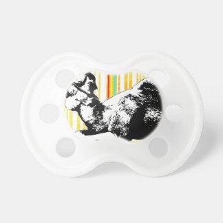 Bar Code Art Design Vector Fun Color Pacifier