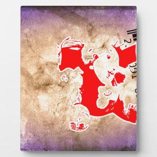 Bar Code Art Design Vector Fun Color Plaque