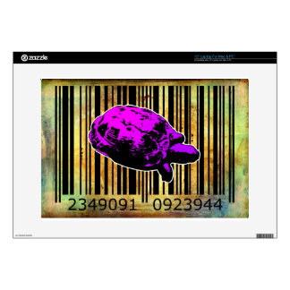 Bar Code Art Design Vector Fun Color Decals For Laptops