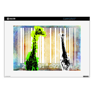 Bar Code Art Design Vector Fun Color Skin For Laptop