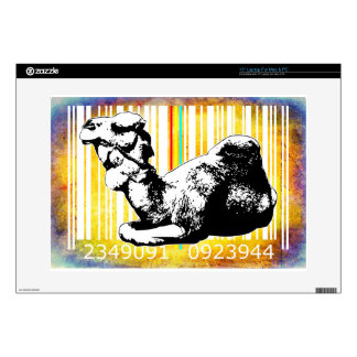 "Bar Code Art Design Vector Fun Color Skins For 15"" Laptops"