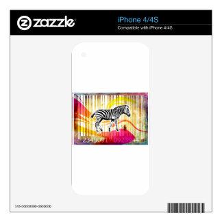 Bar Code Art Design Vector Fun Color Skins For iPhone 4S