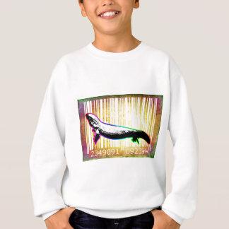 Bar Code Art Design Vector Fun Color Sweatshirt