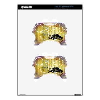 Bar Code Art Design Vector Fun Color Xbox 360 Controller Skin