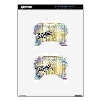 Bar Code Art Design Vector Fun Color Xbox 360 Controller Skins
