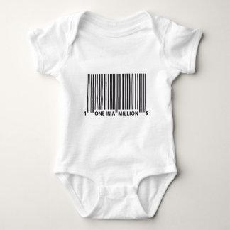 BAR CODE BABY BODYSUIT