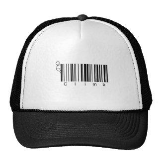Bar Code Climb Mesh Hat