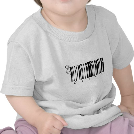 Bar Code Climb T-shirt