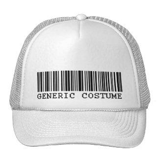 BAR CODE COSTUME Generic Halloween Costume Trucker Hat