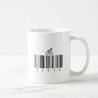 Bar Code Cycle Coffee Mug