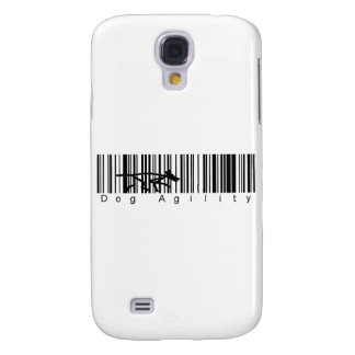 Bar Code Dog Agility Samsung Galaxy S4 Cover