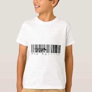 Bar Code Dog Agility T-Shirt