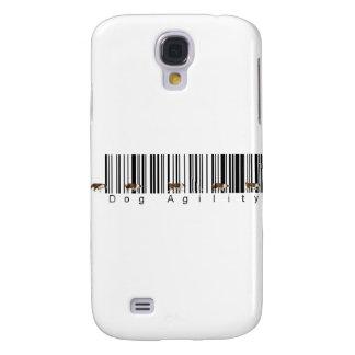 Bar Code Dog Agility weave Galaxy S4 Case