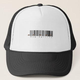 Bar Code Dog Agility weave Trucker Hat