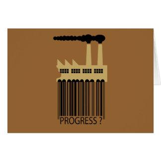 Bar Code Factory and Smoke - Progress ? Card