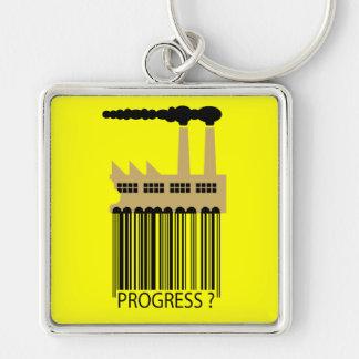 Bar Code Factory and Smoke - Progress ? Keychain