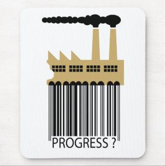 Bar Code Factory and Smoke - Progress ? Mouse Pad