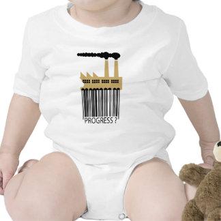 Bar Code Factory and Smoke - Progress ? Tee Shirt