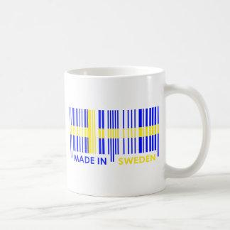 Bar Code Flag Colors SWEDEN Design Coffee Mug