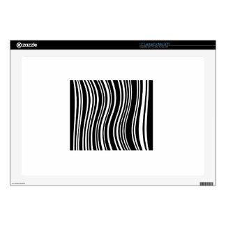 Bar code laptop skins