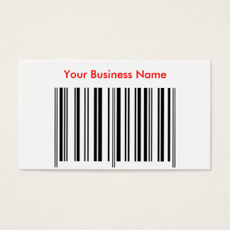 'Bar Code' Profile Card
