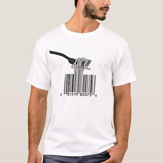 Bar Code Spaghetti T-Shirt