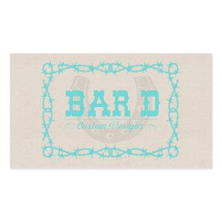 Bar D Custom Designs Business Card Template