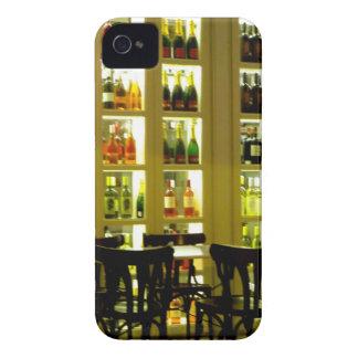 Bar de vinos funda para iPhone 4