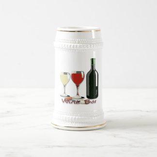 Bar de vinos - vino Stein Jarra De Cerveza
